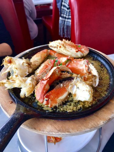 Submitted photo Baked garlic Crab.