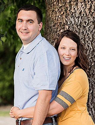 Kara Nelson  and Jeremy Fluegge