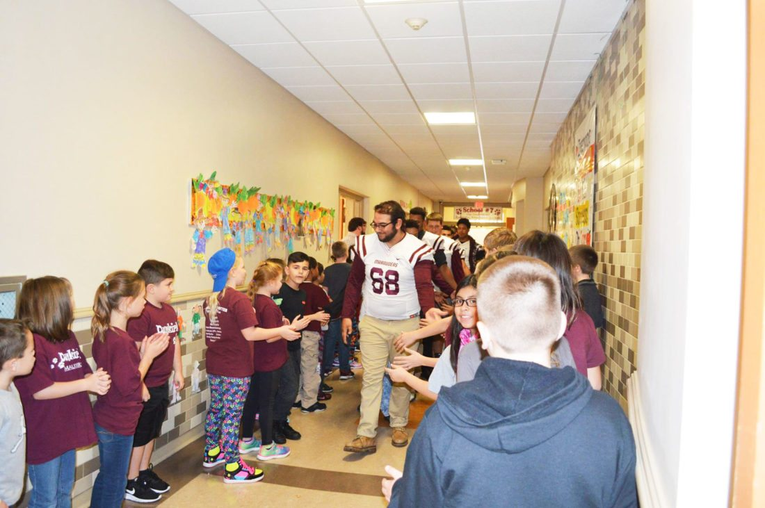 Cheers For Elementary Classrooms : Go marauders elementary cheers news sports jobs