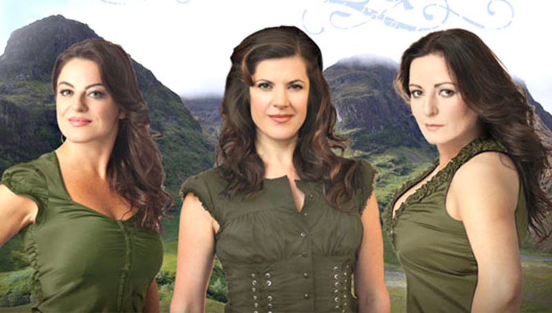 "Submitted Photo The Highland Divas, a Celtic vocal trio, will be the featured guest artists when Rockefeller Arts Center presents ""Poinsettia Pops"" on Dec. 8 at 7:30 p.m. in King Concert Hall at the State University of New York at Fredonia."