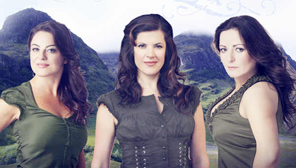 "Submitted Photo The Highland Divas, a Celtic vocal trio, will be the featured guest artists when Rockefeller Arts Center presents ""Poinsettia Pops"" on Thursday, Dec. 8 at 7:30 p.m. in King Concert Hall at the State University of New York at Fredonia."