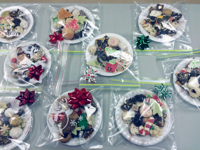 Submitted Photo Trinity Episcopal Church Women will be sponsoring their annual Plated Christmas Cookie sale on Friday, Dec. 9.