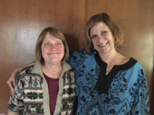 Submitted Photo Mary Croxton (left) and Judi Lutz Woods are pictured.