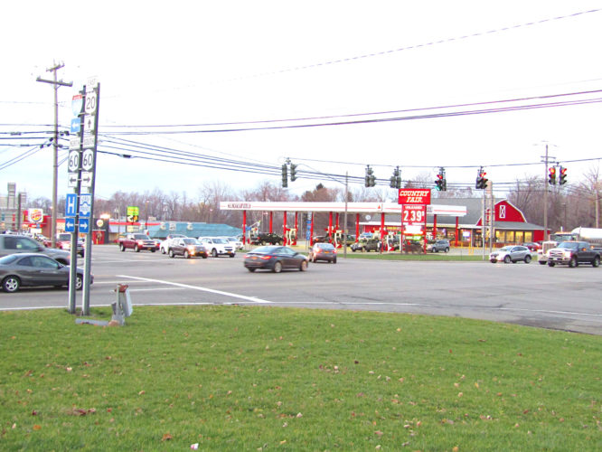 OBSERVER Photo by Greg Fox Pictured is the intersection of Routes 20 and 60.