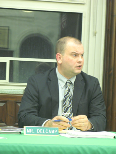 Superintendent Jason Delcamp