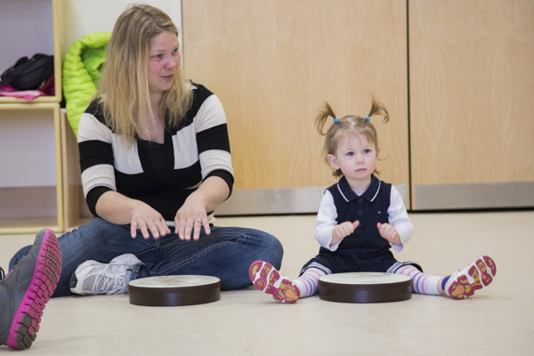 Submitted Photo This year, give the gift of time, music, and togetherness with early childhood music classes.