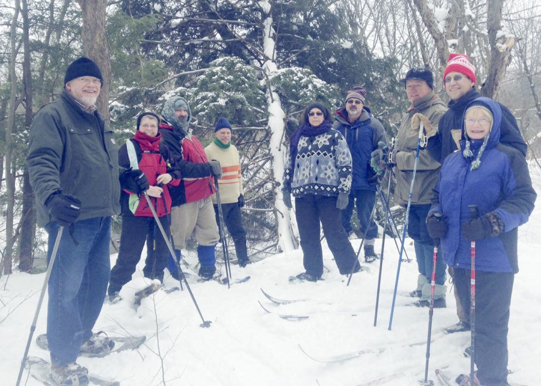 Submitted Photo The Chautauqua Watershed Conservancy will hold a New Year ski and snowshoe tour on Saturday.