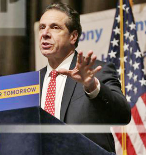"""""""... it is essential that the federal   government does not jeopardize the health and  livelihoods of millions of  working        families."""" Gov. Andrew Cuomo"""
