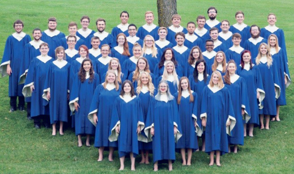 Submitted Photo The Doane Choir will perform on Wednesday at 7 p.m. in the sanctuary of Fredonia First United Methodist Church as part of the Hannah Hasbrouck Petersen Memorial Concert Series.