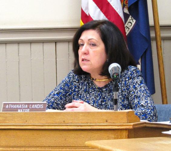 Fredonia Mayor Athanasia Landis