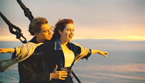 """Submitted Photo """"Titanic"""" stars Leonardo DiCaprio and Kate Winslet."""