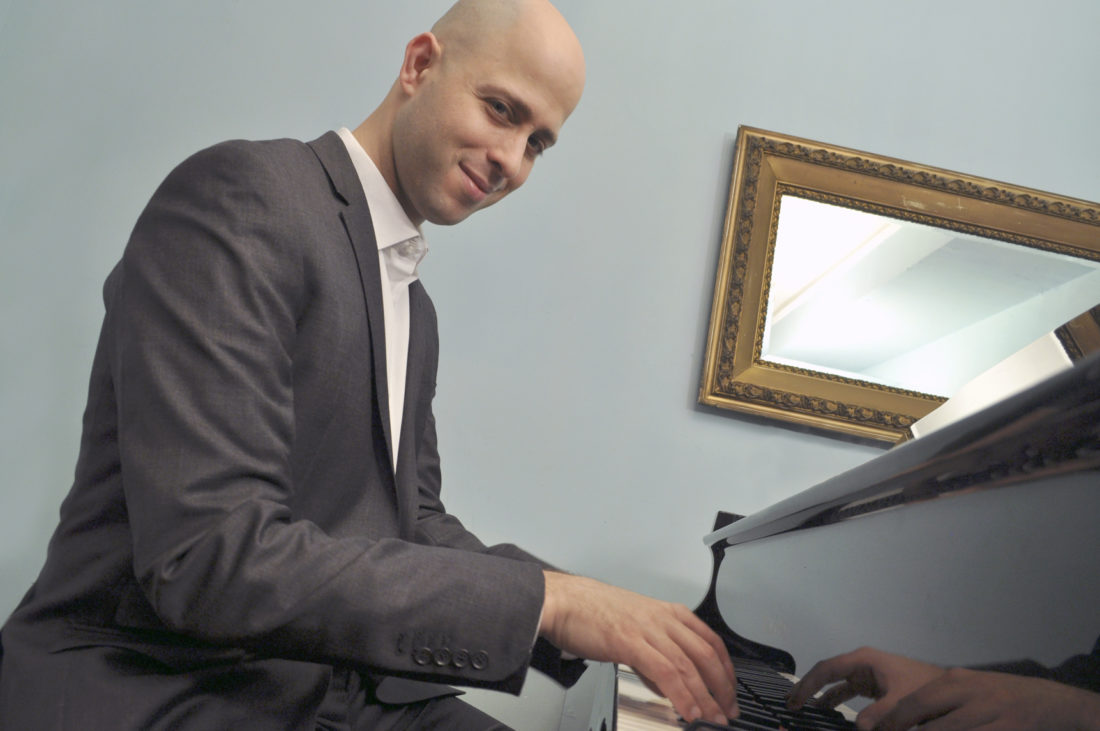 Submitted Photo SUNY Fredonia's newest piano professor, Eliran Avni, spearheaded the new Claudette Sorel Piano Competition as a way to celebrate the artistry of young pianists.