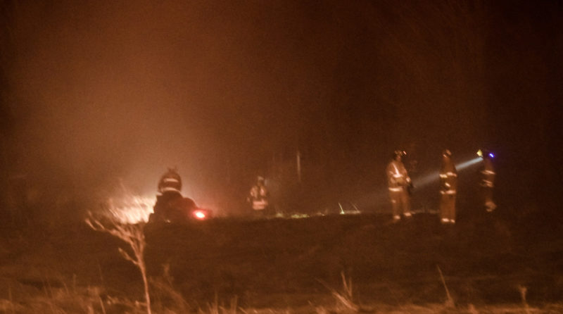 Fire companies from Sinclairville, Ellington and Gerry were on the scene in Charlotte on Wednesday evening.
