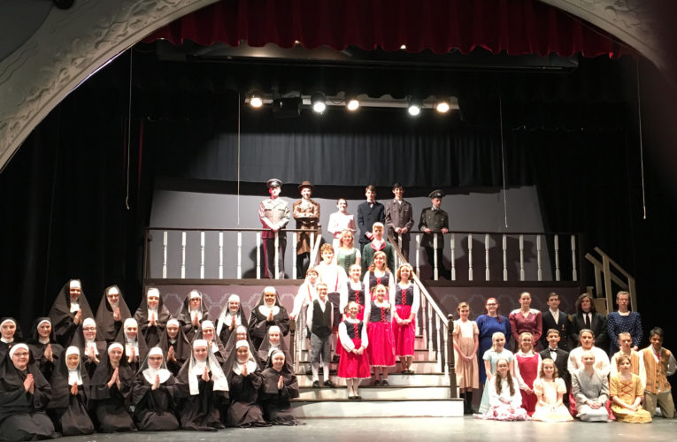 All the students in this year's production.