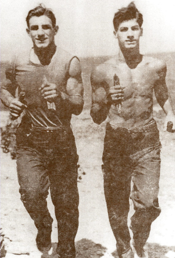 Joe and Phil Muscato were known nationally in for their achievements in boxing in the 1940s.
