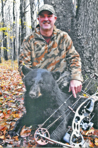 OBSERVER File Photo New York State hunters like Gary Nichols of Sinclairville have seen increased black bear hunting opportunities in the Southern Zone in recent years.