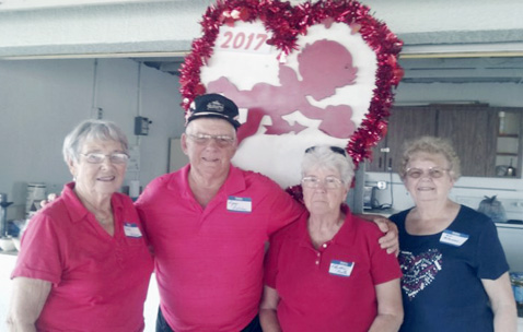 Submitted Photo: The 15th annual Villenova-Valentine Picnic was held Feb. 14 at the pavilion on Lake Walk-In-Water in Indian Lake Estates, Florida.
