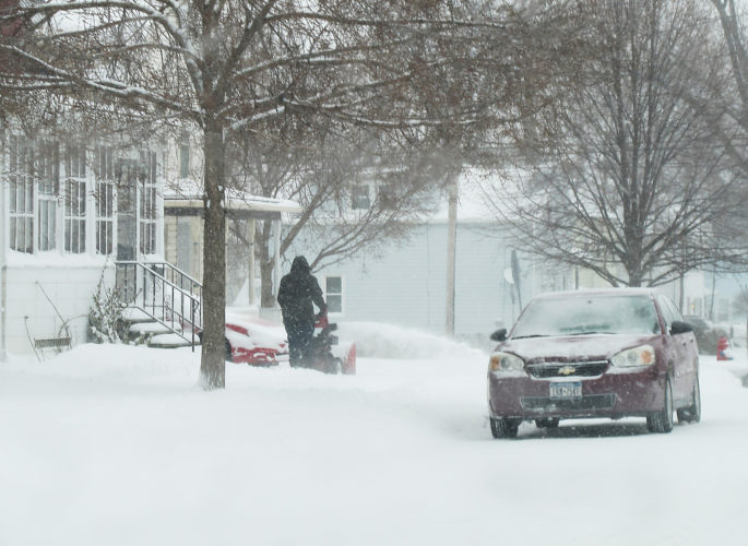 We had some snow, but the central Southern Tier got the worst of Stella.
