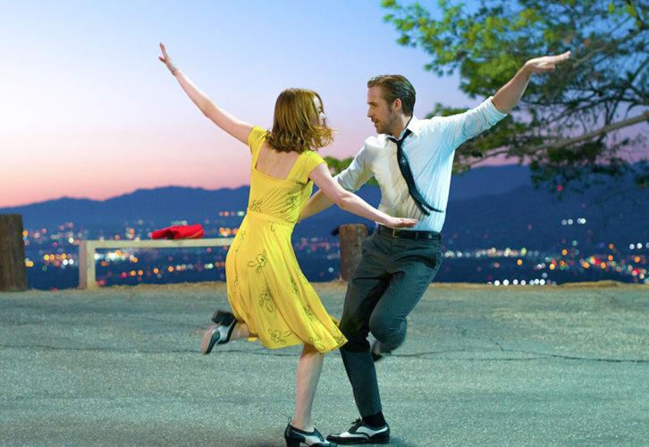 """La La Land"" stars Emma Stone and Ryan Gosling."