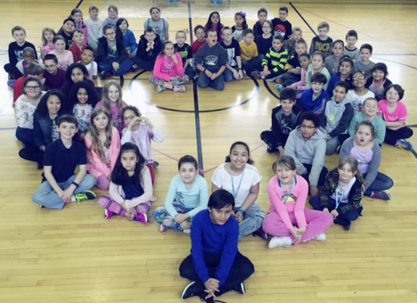 Submitted Photo Pictured are the Dunkirk School 4 students who raised money during the recent Jump Rope for Heart fundraiser sponsored by the American Heart Association.