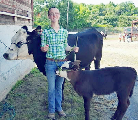 Submitted Photo Hope Catanese was named the 4-H SuperYouth for the month of February.