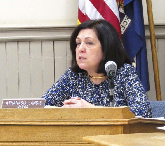"Mayor Athanasia Landis says she ""will not apologize for using common sense."""