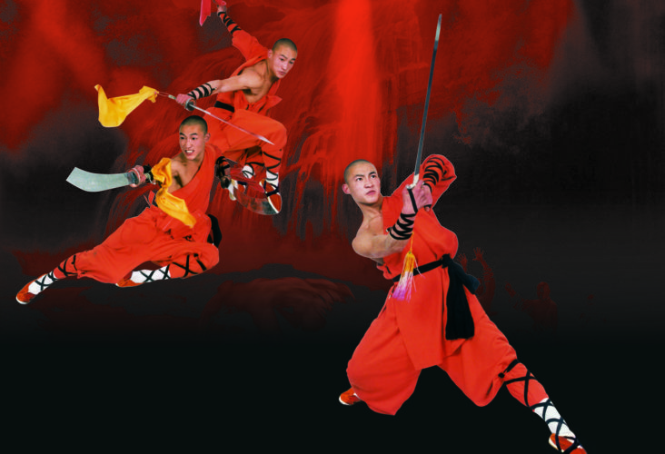 Submitted Photo Shaolin Warriors: Legendary Masters of Kung Fu takes place Friday at the Reg Lenna Center for the Arts.