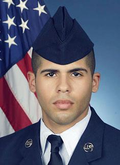U.S. Air Force Airman Elias X. Echevarria