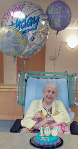 Submitted Photo: Helen Grande will turn 106 years young on April 19.