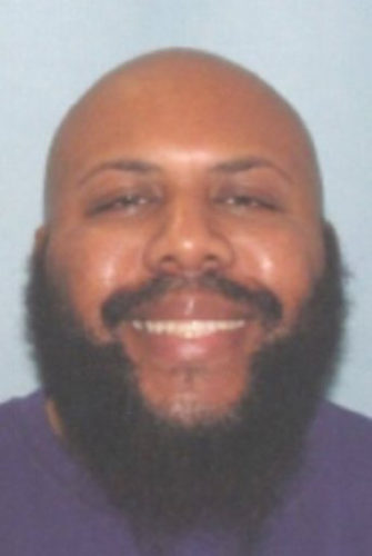 This undated photo provided by the Cleveland Police shows Steve Stephens. Cleveland police said they are searching for Stephens, a homicide suspect, who recorded himself shooting another man and then posed the video on Facebook on Sunday.