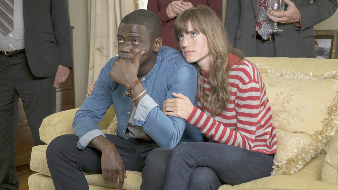 """Submitted Photo """"Get out"""" stars Daniel Kaluuya and Allison Williams."""