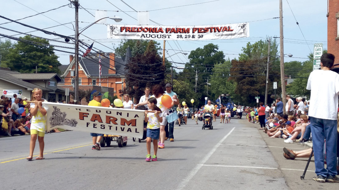 OBSERVER File Photo The Fredonia Farm Festival cannot go on this year without more volunteers.