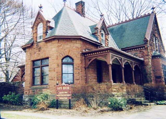 Although Audrey's main office was first located at the chapel and later at the gate house pictured here, both she and Michaelene were on call 24 hours a day from their homes for more than 30 years each.