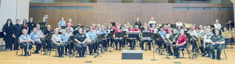 Submitted Photo The New Horizons Band of Western New York will perform Wednesday at 7:30 p.m. in King Concert Hall on the SUNY Fredonia campus.