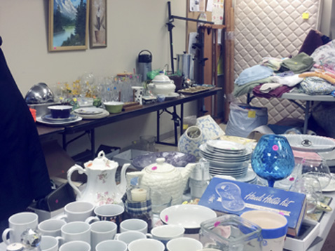 Submitted Photo: It's almost time for the Spring Rummage Sale at Trinity Episcopal Church, 11 Day St. Fredonia in Garland Hall. Lots of clean, usable treasures to be found on Friday from 9 a.m. to 4 p.m. and Saturday from 9 a.m. to noon.