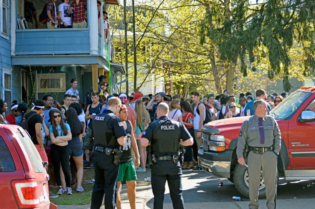 "OBSERVER File Photo. Fredonia Police will post arrests on Facebook during this weekend's ""non-Fred Fest."""
