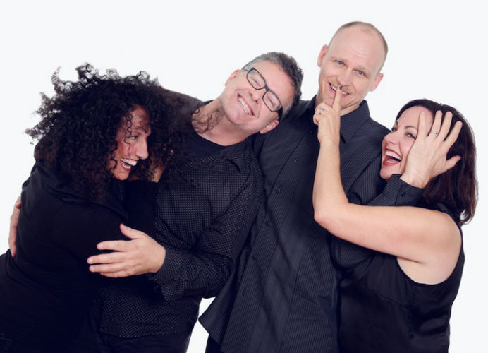"Submitted Photo  New York Voices, a Grammy Award-winning vocal quartet, will be featured when Rockefeller Arts Center presents ""Commencement Eve Pops with New York Voices"" on Friday, May 12 at 7:30 p.m. in King Concert Hall at the State University of New York at Fredonia."