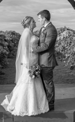 Photo by Alyssa and Michael Photography MR. AND MRS.  KYLE ROBERT DUDGEON