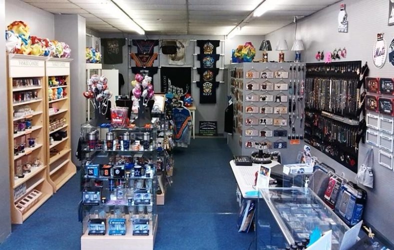 Gifts, Decor and More, a retail outlet located at 205 Cherry St., offers a variety of sports, novelty and other gift items for purchase in downtown Jamestown. Submitted photo