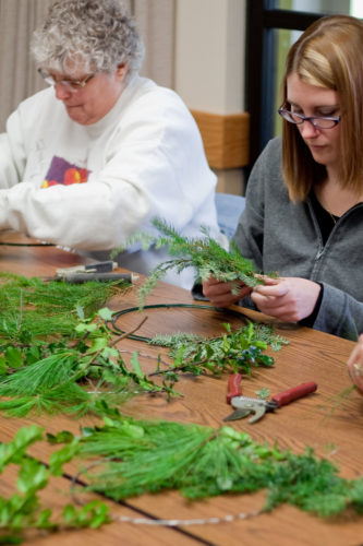 Join Audubon on Dec. 10 from 1-3 p.m. to make some holiday decorations with greens and other natural objects.