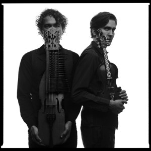 Erik Rydvall from Vasterbotten, Sweden, will perform on the nyckelharpa and Olav Mjelva from Roros, Norway, will play the Hardanger fiddle. The concert will be Wednesday, Dec. 7, at 7 p.m. at the Holy Trinity Lutheran Church, 825 Forest Ave. Submitted photo