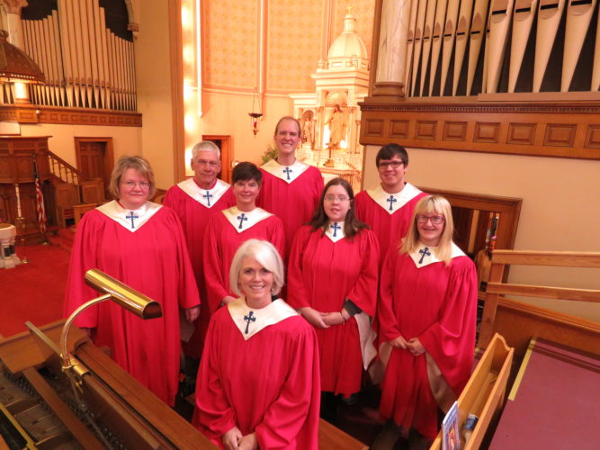 First Lutheran  Choir Receives  Donation For Cantatas