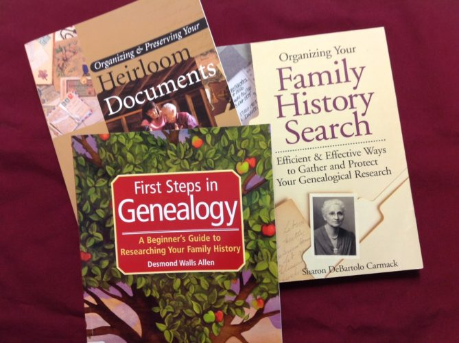 There are different ways to collect the family stories. At the Fenton Research Center in the Hall House, we have some books that can guide people in collecting the stories, either by oral history or written history. Submitted photo