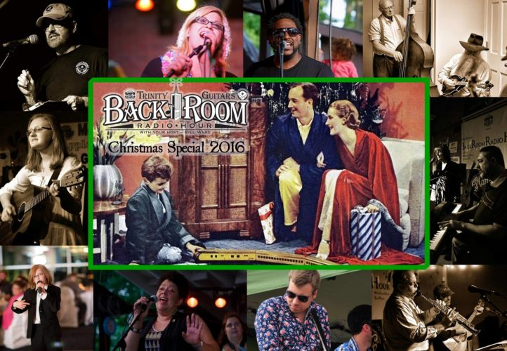 "Trinity Guitars' annual ""Back Room Radio Hour"" Christmas special will feature performances by several local and area musicians during the program's live taping on Thursday. Scheduled to appear in this year's program are Bill Ward, Teal Weatherly, Steve Davis, Jk.A, John Cross, Marla Harris, Abby Beach, Don Strom, Steve Strom, Barbara Jean, Steve Strickland and Gregg Robbins-Welty. Submitted photo"