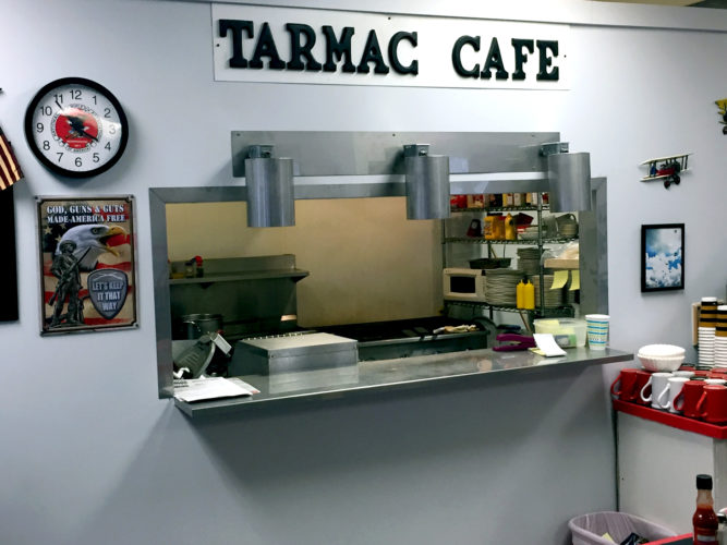 Tarmac Cafe has a new location at 679 Fairmount Ave. in the city of Jamestown. The airplane-themed diner was originally located at the Chautauqua County-Jamestown Airport. P-J photos by Jimmy McCarthy