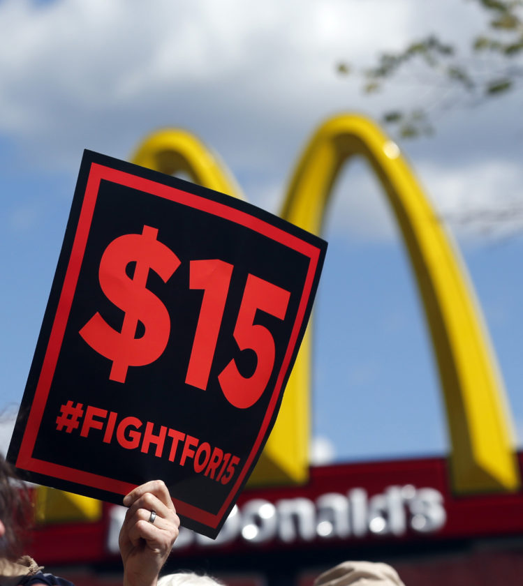Minimum wage hikes for many take effect Sunday