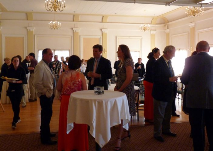 Celebration of the Arts Party at the Bartlett Country Club, 2016.
