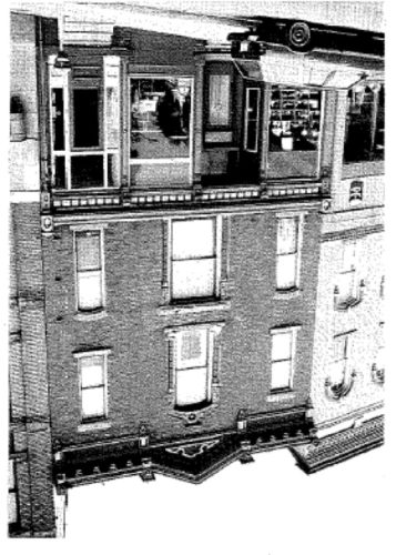 The Stearns Building at 34 N. Main Street taken from the Historical Survey Report by The Bero Associates in 1993.
