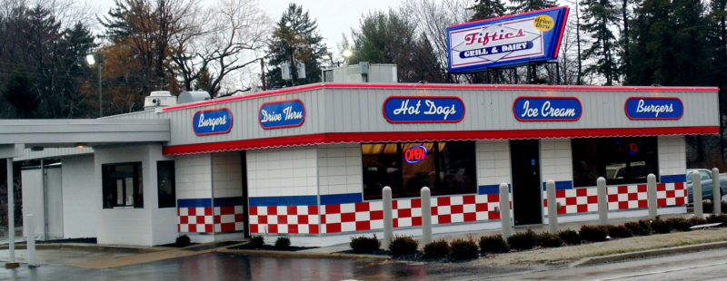 Fifties Grill & Dairy has a new second location at 156 Fairmount Ave. in Lakewood. The 50s-style restaurant features quality food and quick service. Fifties Grill & Dairy in Lakewood also features a drive-thru.  P-J photo by Jimmy McCarthy