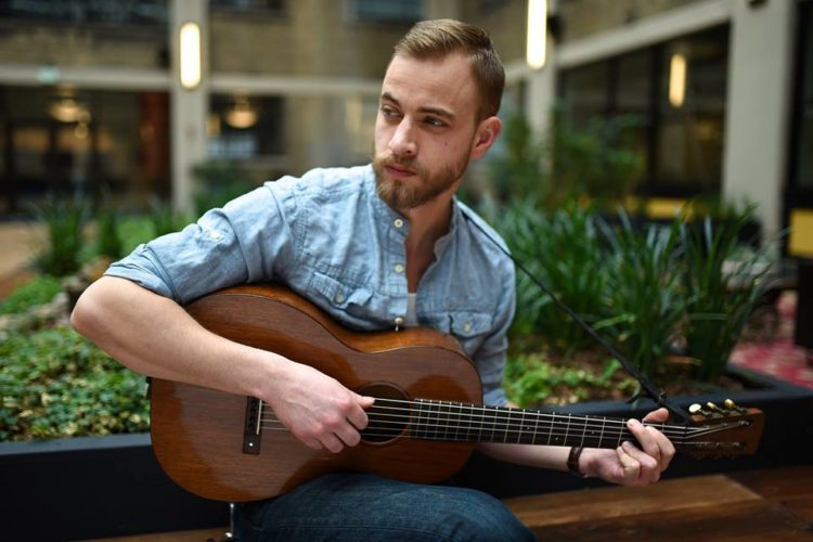 """Trinity Guitars' """"Back Room Radio Hour will feature Chautauqua County singer-songwriter Stephen Foster,  in the on-site taping of its next episode Thursday, Feb. 9, at 7 p.m.Submitted photos by Jamie Probst"""
